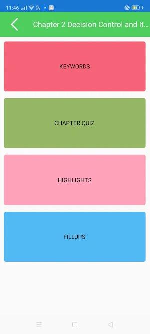 quizzing app